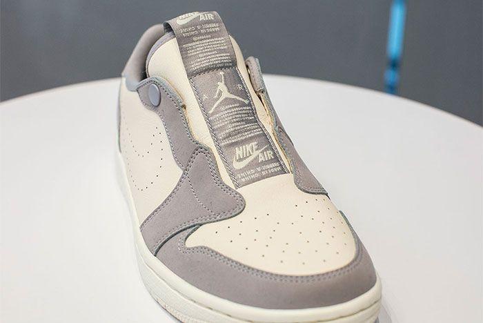 Jordan 1 Low Slip Grey 2 Front Shot