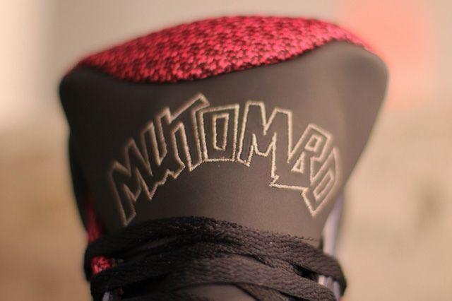 Adidas Mutombo 2 Black Burgundy Bump 5