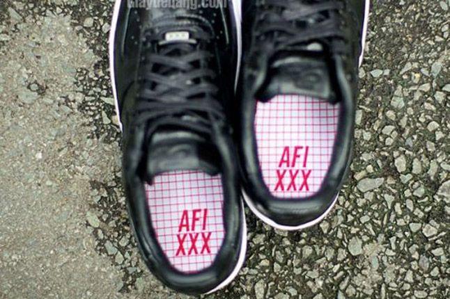 Nike Air Force One 1 Supreme Black Camo Heels 1