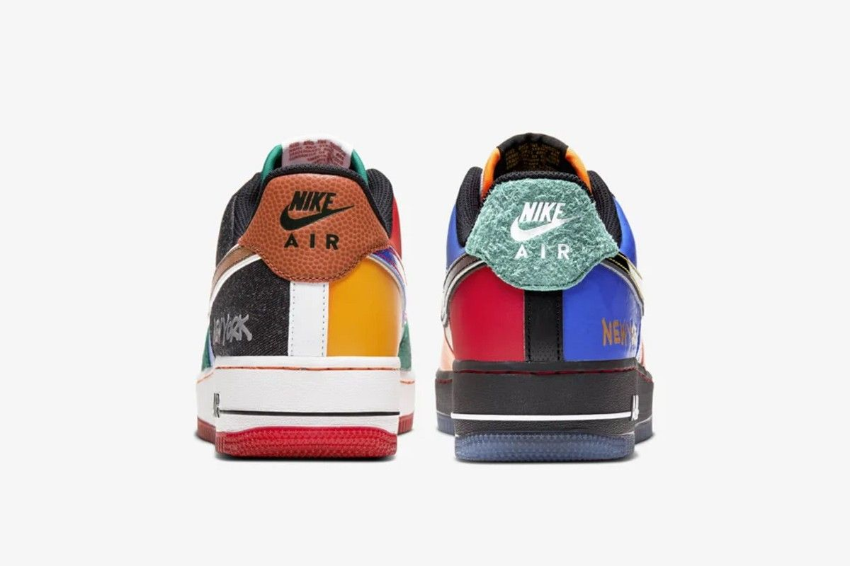 Nike Air Force 1 What The NY Heel