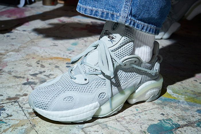 Adidas Torsion X Ash Silver Ee4885 Release Date On Foot