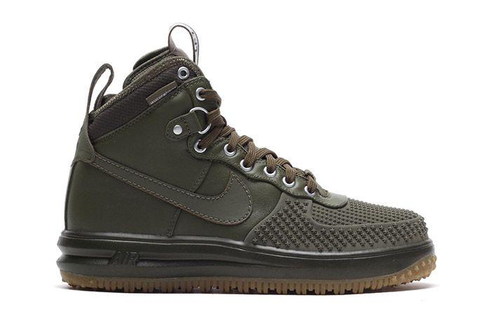 Nike Lunar Force 1 Duckboot Olive 1