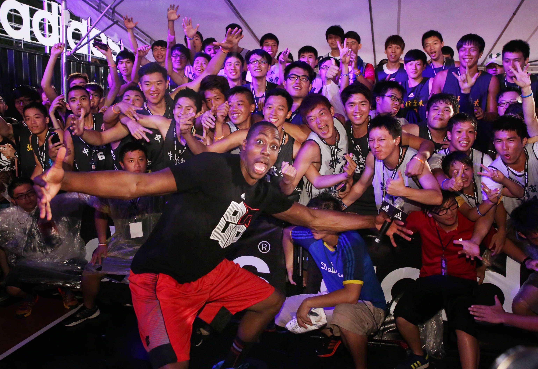 Adidas D Howard Tour In Taipei Taiwan 6