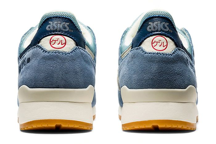 Asics Gel Lyte 3 Smoke Blue Heel
