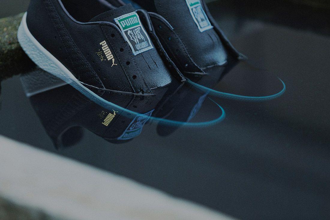 Cluct X Mita Sneakers X Puma Clyde Indigo 13