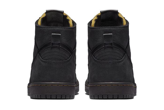 Nike Sb Dunk High Decon Black Gold 3