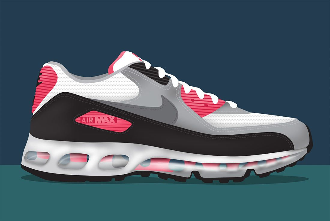 Nike Air Max 90 360 One Time Only Infrared 1