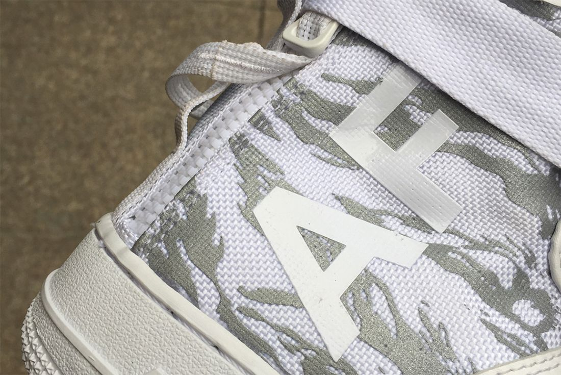 Ice Cold Nikes Sf Af 1 Appears In White Tiger Snow Camo