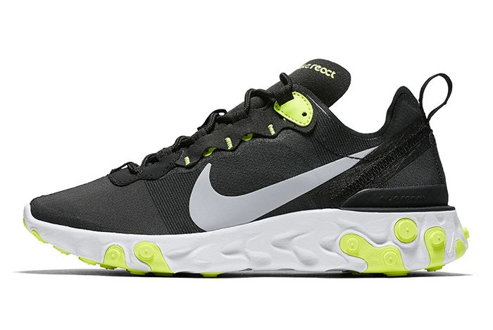 Nike React Element 55 Volt Solar Red 1