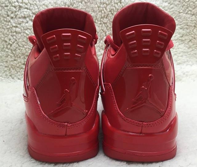 Air Jordan 4 Lab 11 Red 4