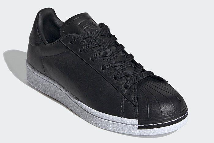 Adidas Stan Smith Black Fv3353 Three Qaurter Lateral Side Shot