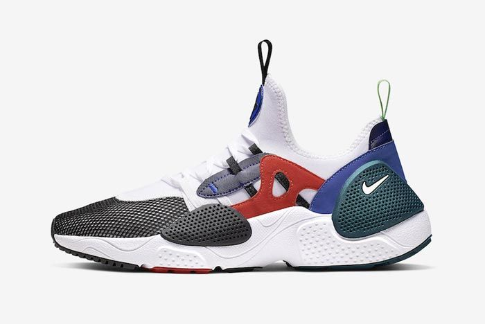 Nike Huarache Edge Txt Water Duck Blue Lateral