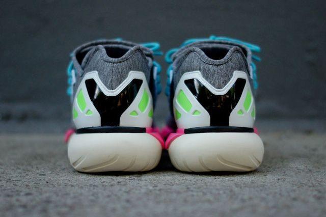 Y 3 Qasa Low Neon Pack Heel Profile