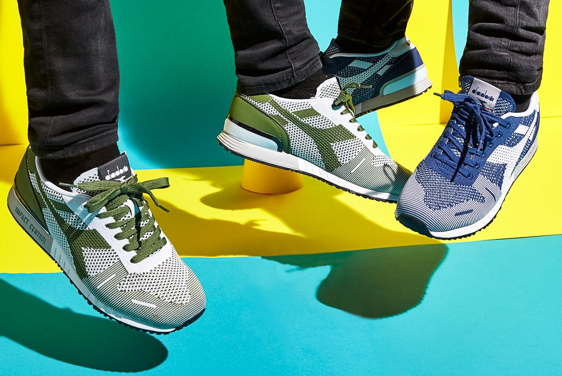 Diadora Weave Collection Spring Summer 2017Titan