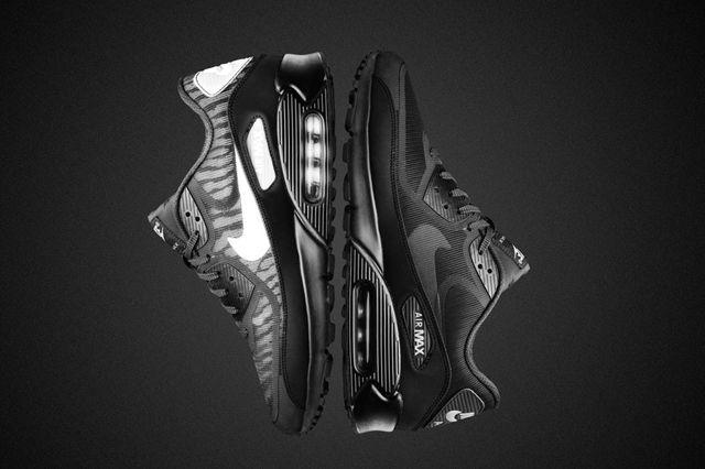 Nike Air Max 90 Black Reflective Collection Mens