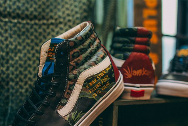 Sbtg X Kadir Warriors Vans Pack 3