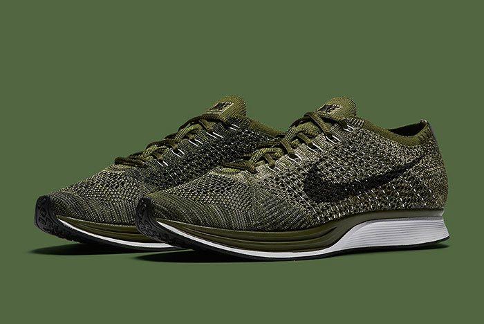 Nike Flyknit Racer Rough Green 4