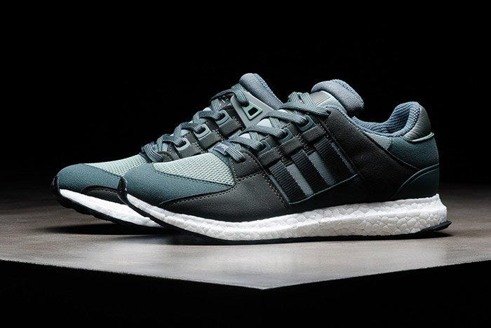 Adidas Eqt Support Ultra Boost Trace Green Utility Ivy 1