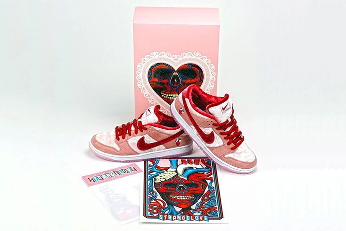 Strangelove Skateboards Nike Sb Dunk Low Box