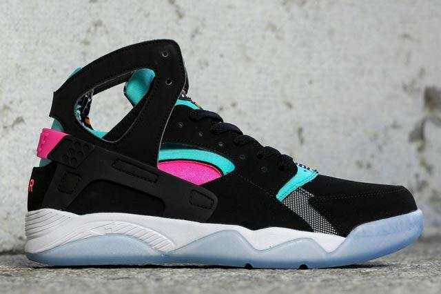 Nike Air Flight Huarache Pink Pow Black 1
