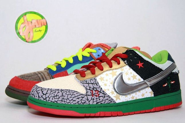 Nike Sb What The Dunk 1