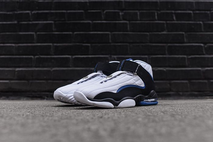 Nike Air Penny Iv White Black Atlantic Blue 4