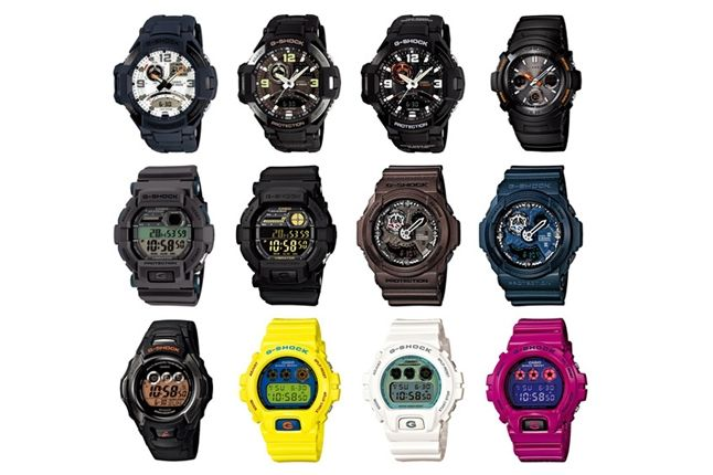 Casio G Shock February 2013 Lineup 1