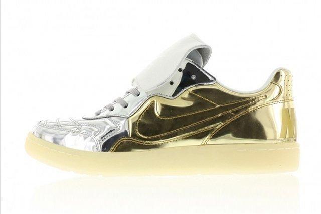 Nike Tiempo 94 Liquid Metal Gold Silver 1