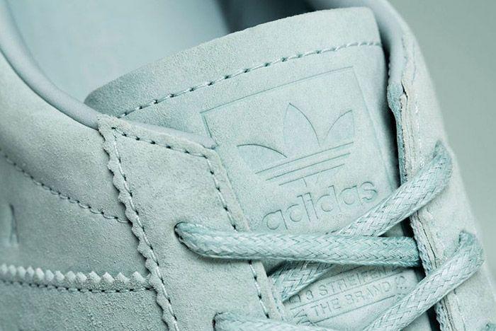 Adidas Samoa Pigskin Suede Light Grey 3