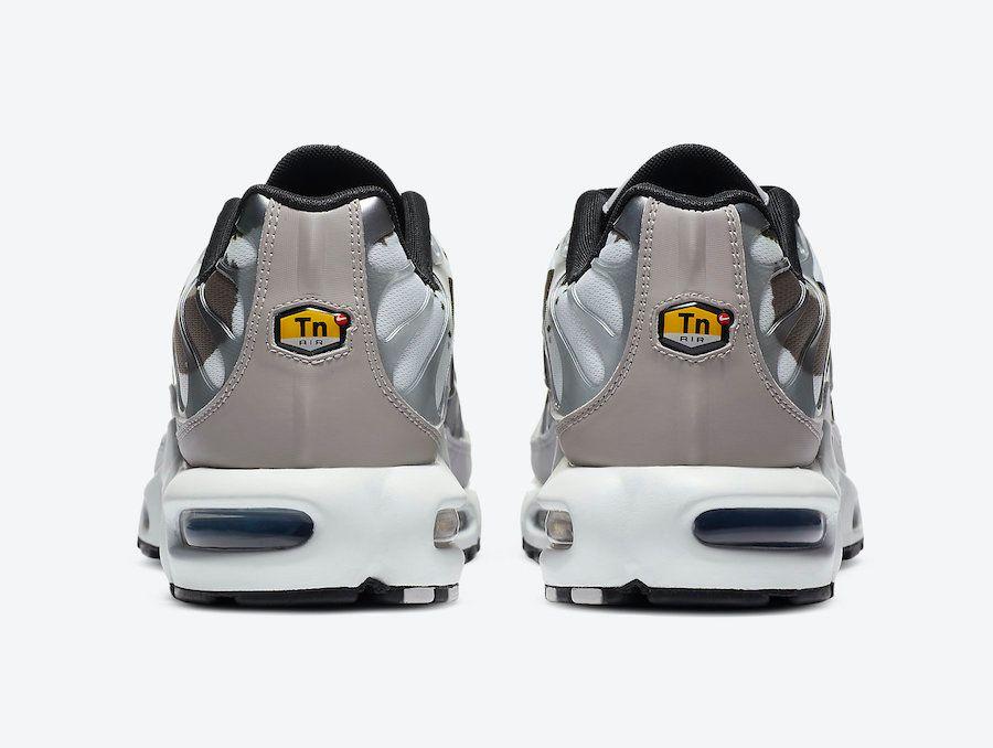 Air Max Plus Brushstroke Camo Heel