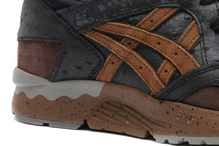 Asics Gel Lyte V Ostrich Black Brown 2