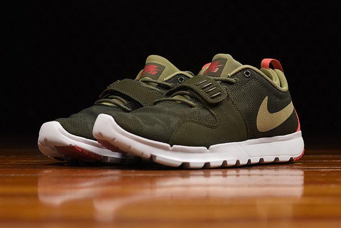 Nike Sb Trainerendor Olive 1