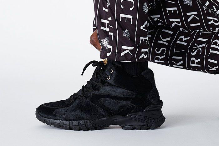 Kith Versace Black Fur
