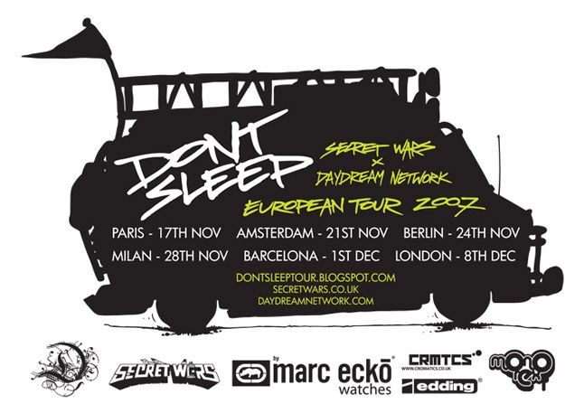 Dont Sleep Tour 1