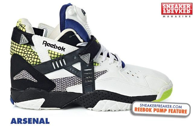 Reebok Pump The Arsenal 1