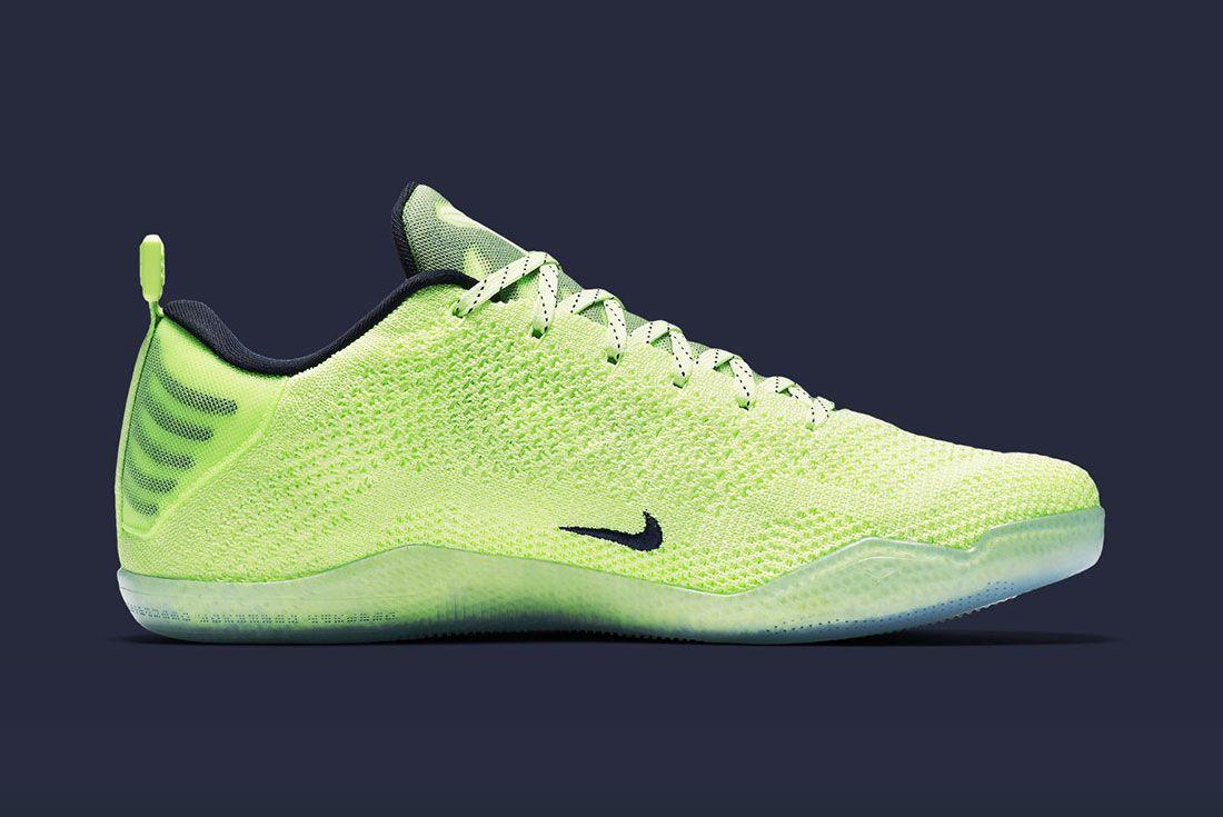 Nike Kobe 11 Liquid Lime 3