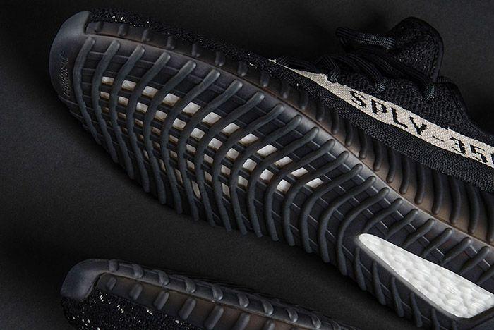 Adidas Yeezy Boost 350 V2 Black White 2