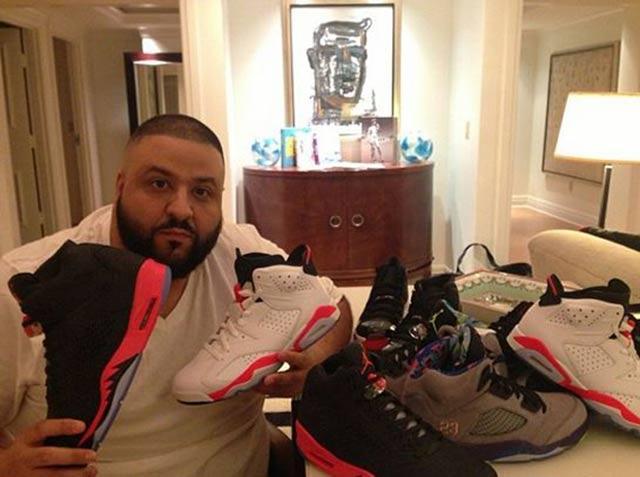 Sneaker Style Profile Dj Khaled 2