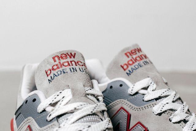 New Balance 997 Grey Red 2