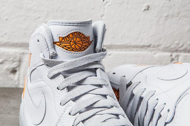 Nike Air Jordan 1 Retro 86 Kumquat Pure Platinum 2