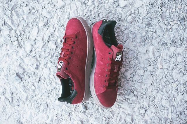 Adidas Stan Smith Vulcanised Burgundy Bumperoo 6
