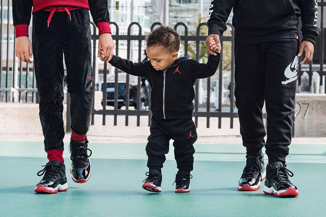 Air Jordan 11 Bred Jd Sports Hero Shots4