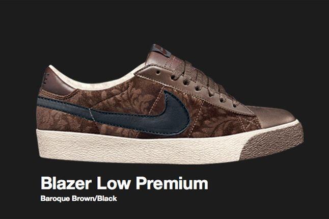 Nike Sb Baroque Brown Blazer Low 2007 1