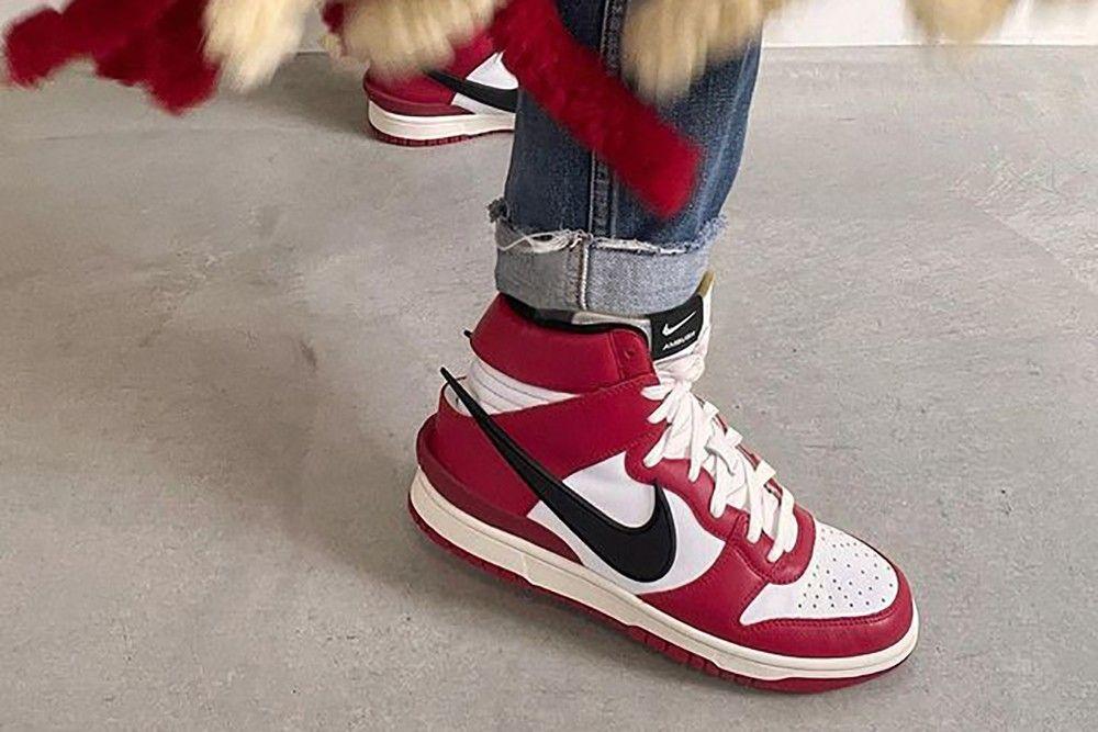 AMBUSH Nike Dunk High Chicago