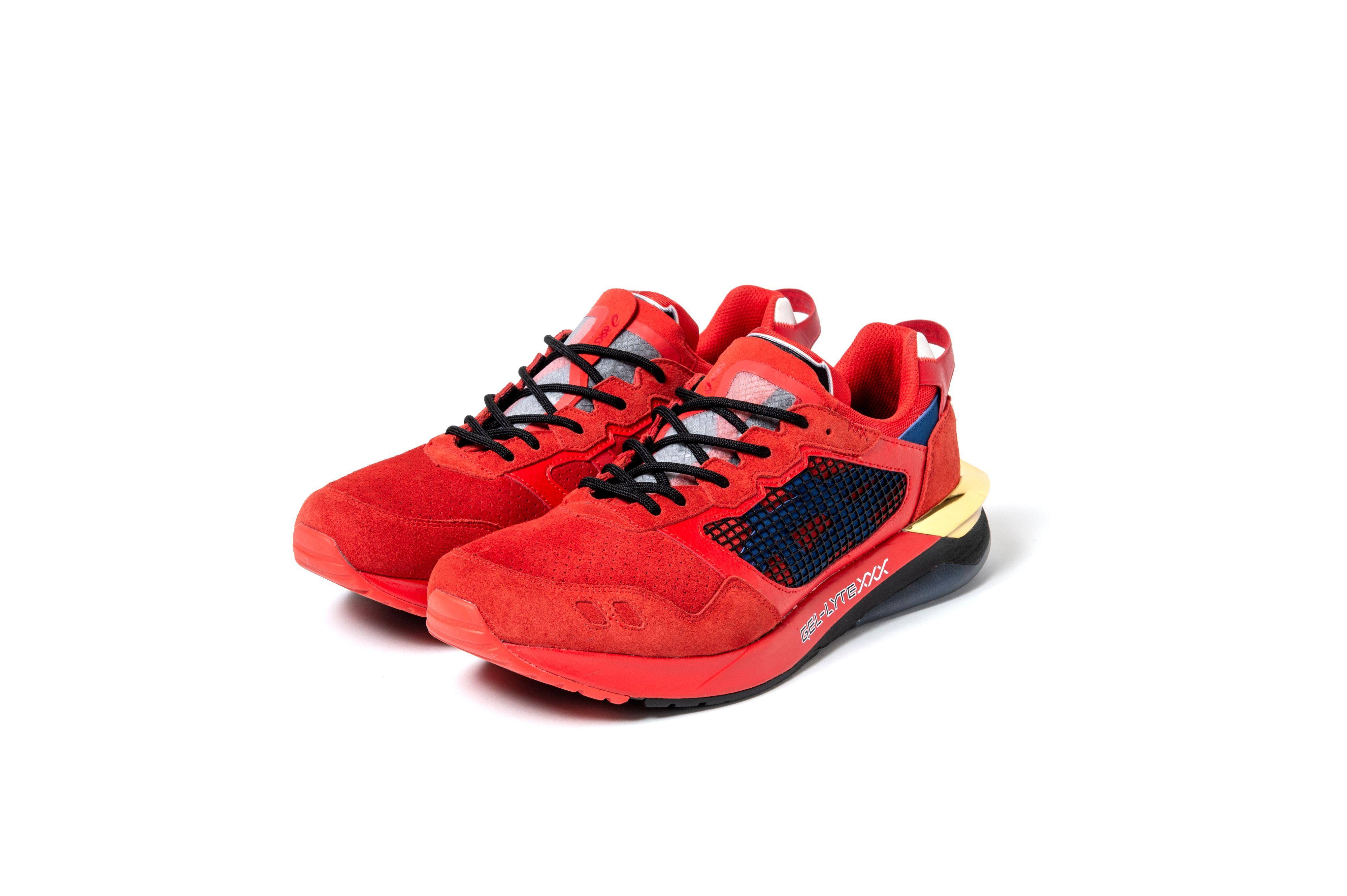 sneakerwolf x Asics Gel Lyte XXX RED