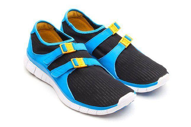 Nike Free Sockracer Photo Blue 1