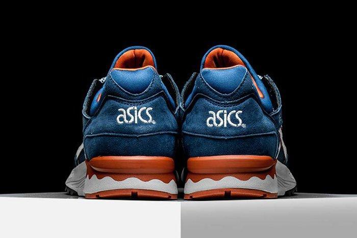Asics Gel Lyte V Blue White Orange Pack 05