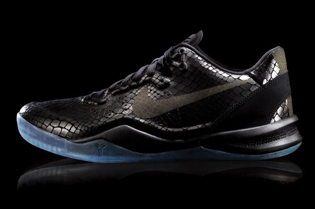 Nike Kobe 8 Ext Black Profile Yots 1