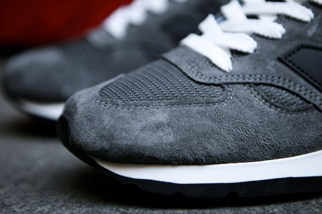 New Balance 990 Made In Usa Charcoal Grey 11