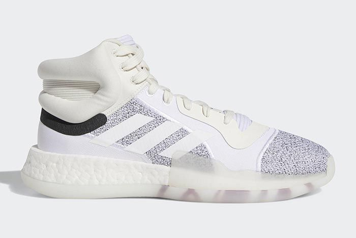 Adidas Marquee Boost White 2